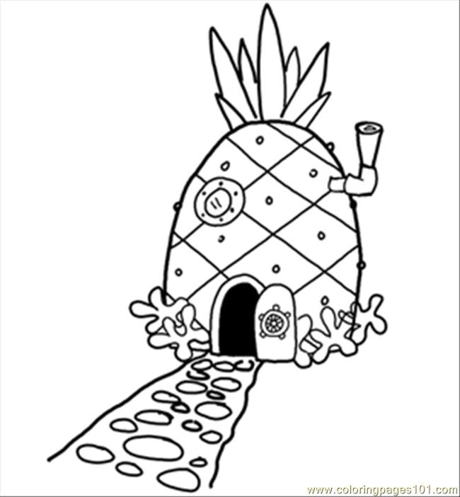coloring spongebob black and white 14 pineapplehousesquare 300 coloring page free black coloring spongebob and white
