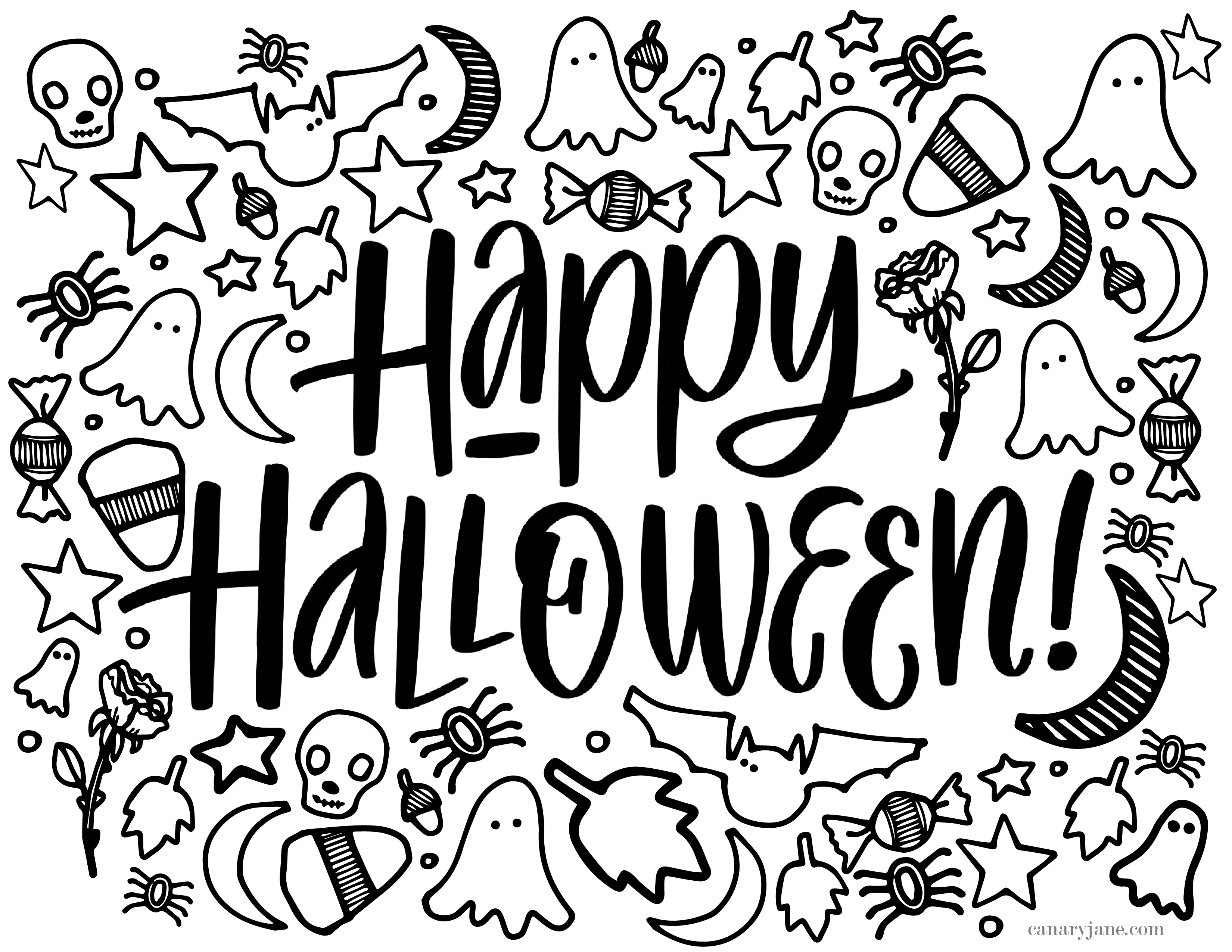 coloring templates halloween halloween coloring pages 10 free spooky printable halloween templates coloring