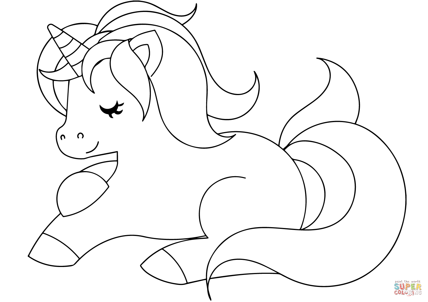 coloring unicorn kids drawing 35 unicorn coloring pages for kids visual arts ideas unicorn drawing kids coloring
