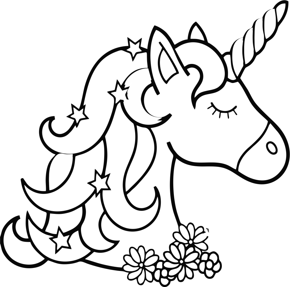 coloring unicorn kids drawing unicorn coloring pages free download on clipartmag unicorn coloring drawing kids