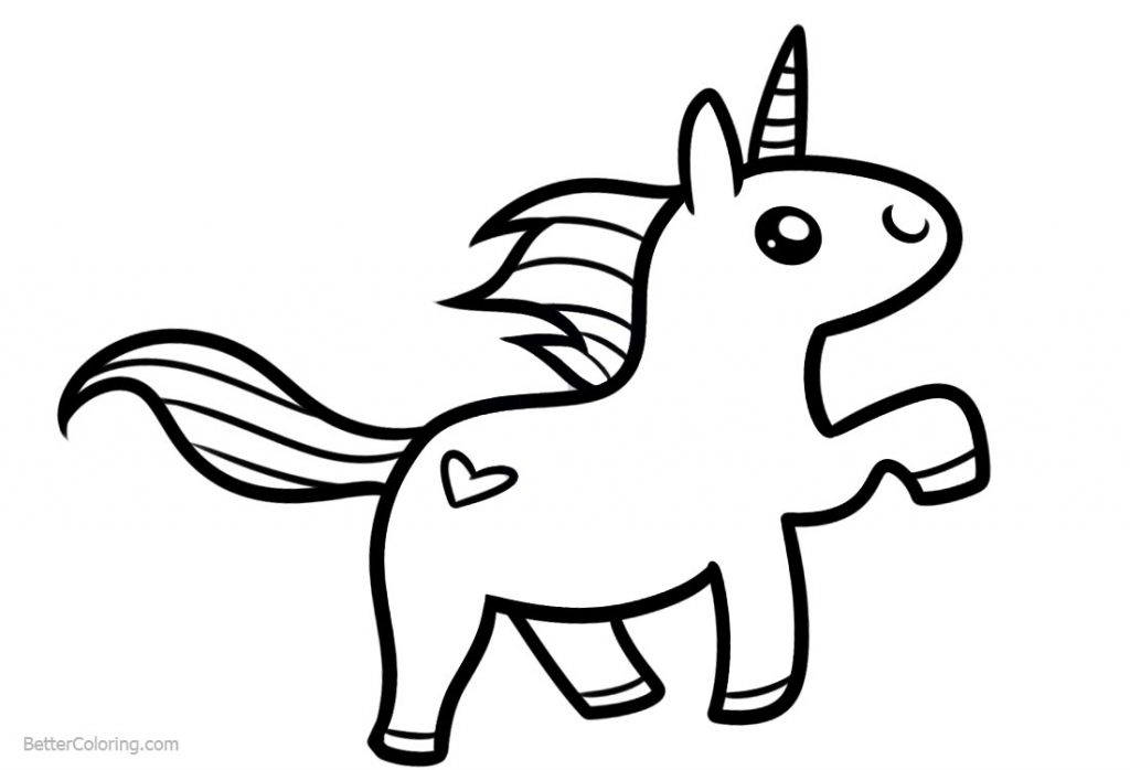 coloring unicorn kids drawing unicorn drawing easy free download on clipartmag drawing kids unicorn coloring