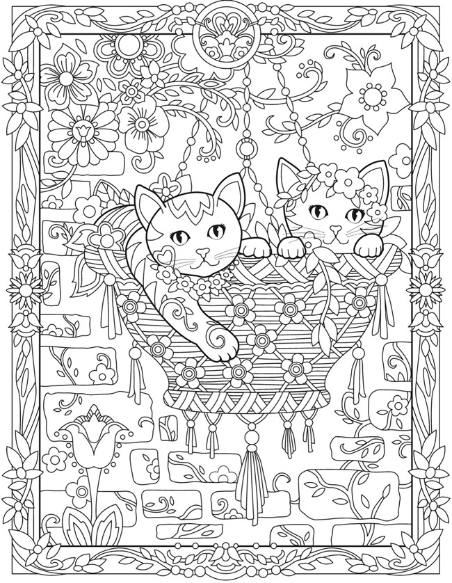 coloring with sample welcome to dover publications coloring sample with