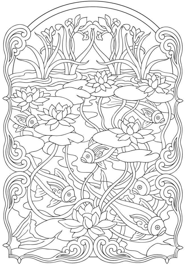 coloring with sample welcome to dover publications coloring with sample 1 1