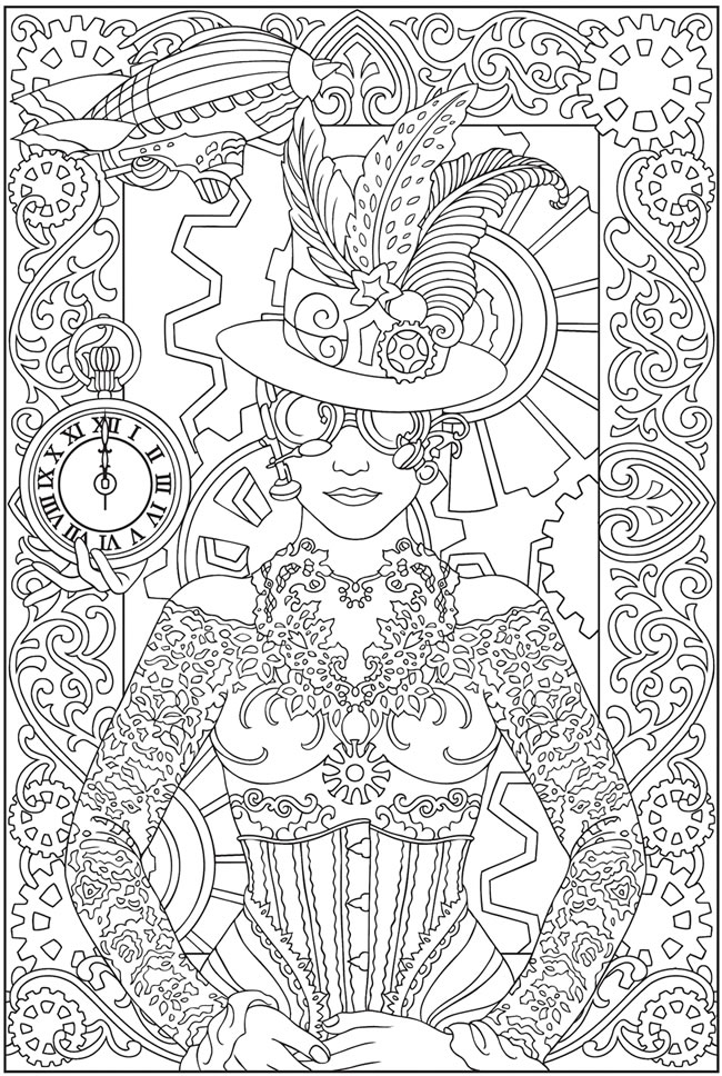 coloring with sample welcome to dover publications with sample coloring