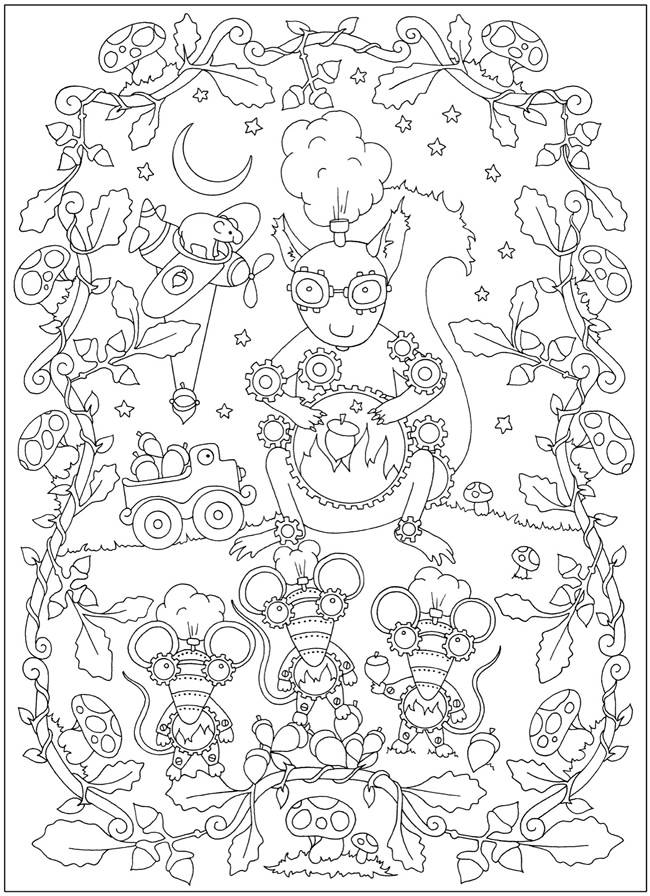 coloring with sample welcome to dover publications with sample coloring 1 1