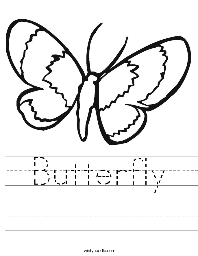 coloring worksheet butterfly craftsactvities and worksheets for preschooltoddler and worksheet butterfly coloring