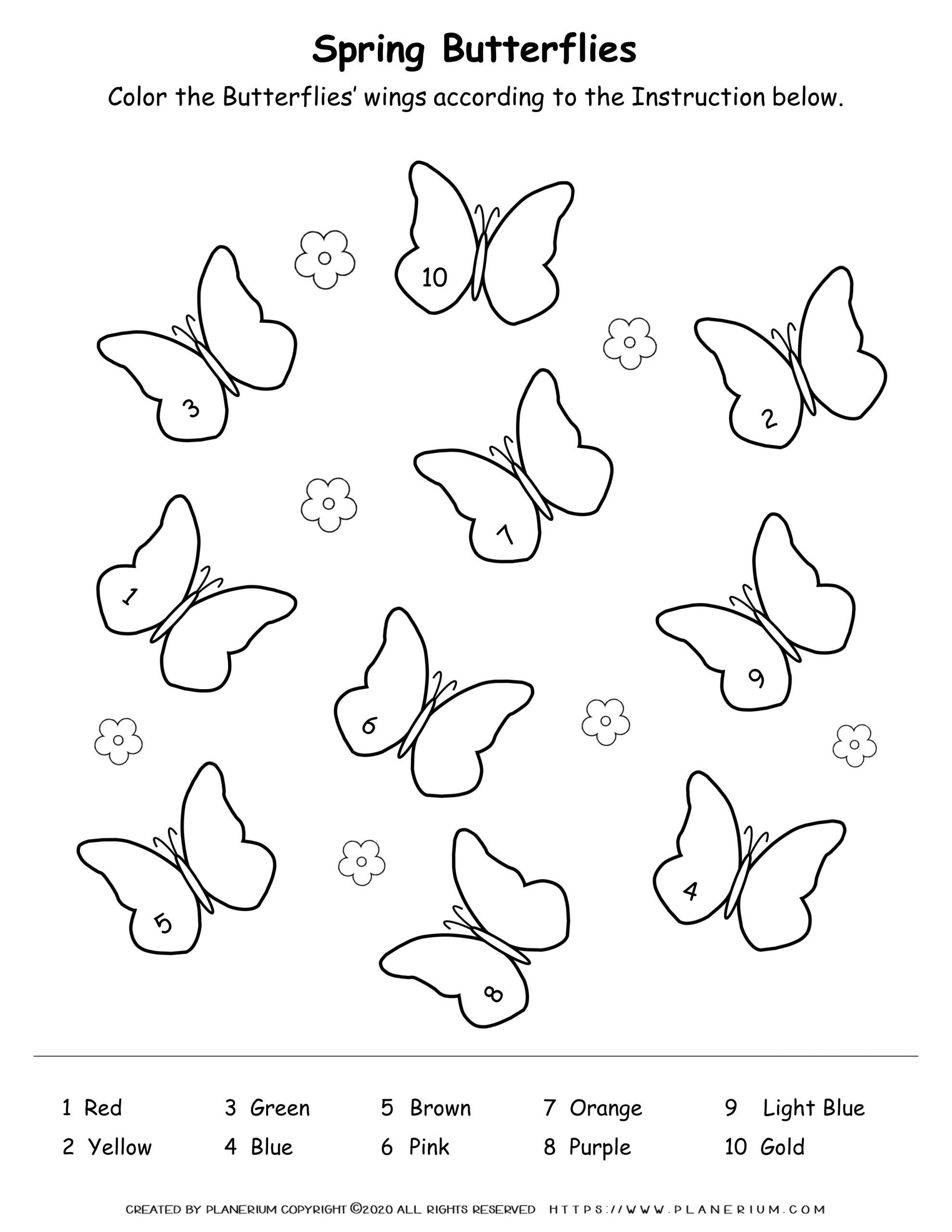 coloring worksheet butterfly english worksheets butterfly coloring butterfly worksheet