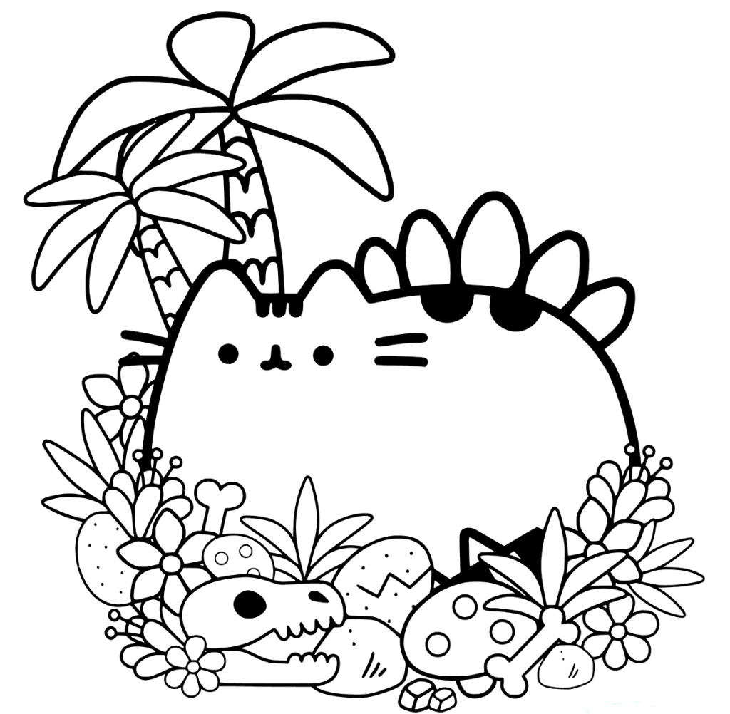 coloring worksheets cute 20 free pusheen coloring pages to print cute coloring worksheets