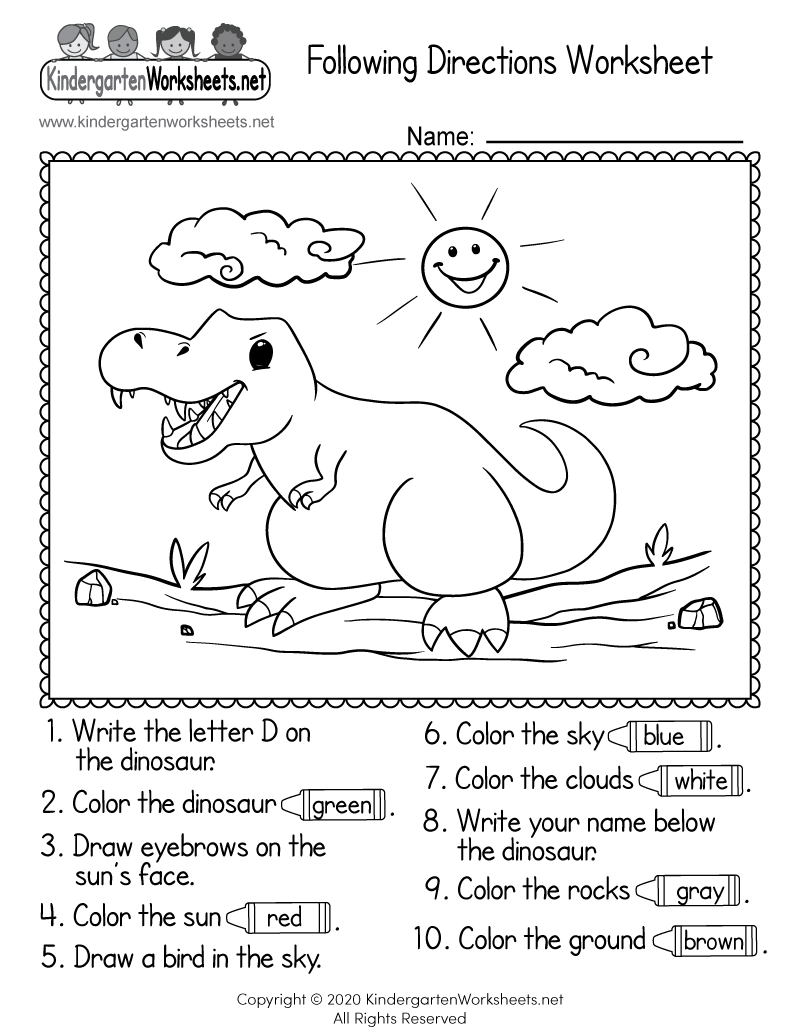 coloring worksheets with instructions free st patrick39s day following directions by teaching instructions with coloring worksheets