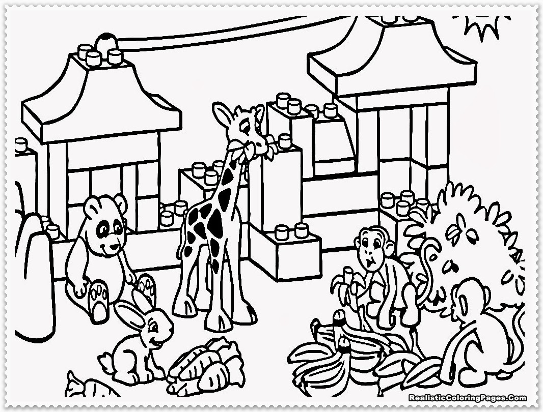 coloring zoo animals free printable zoo coloring pages for kids coloring zoo animals
