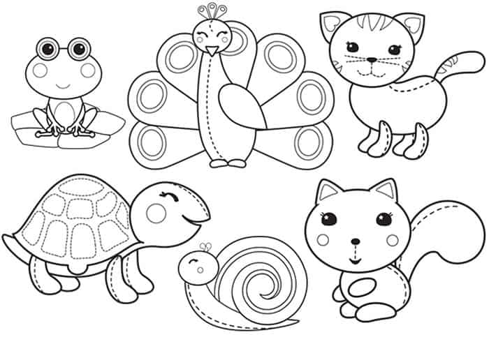 coloring zoo animals zoo animal coloring pages for toddlers at getdrawings coloring zoo animals