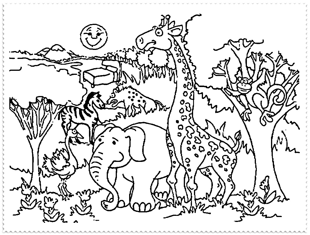 coloring zoo animals zoo animals coloring pages coloring pages to download coloring zoo animals