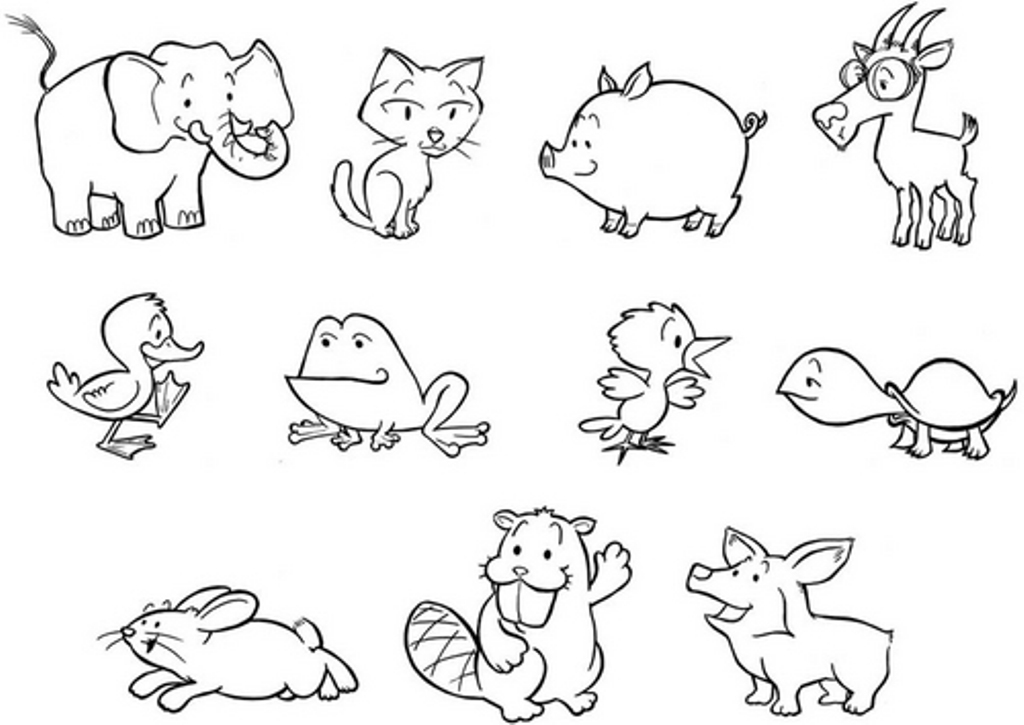 coloring zoo animals zoo coloring pages getcoloringpagescom animals coloring zoo