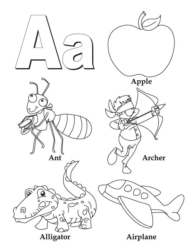 colouring letters a to z alphabet coloring page a z coloring page pedia journals to z letters a colouring