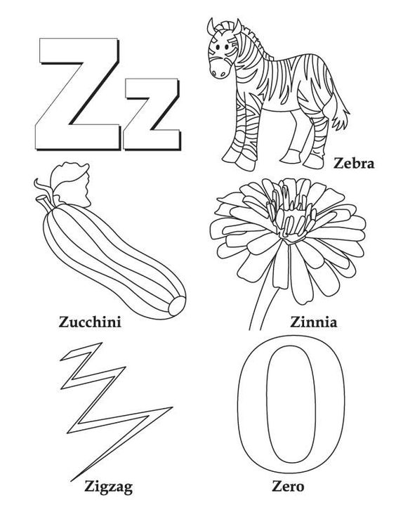 colouring letters a to z free printable alphabet coloring pages for kids best to z letters a colouring