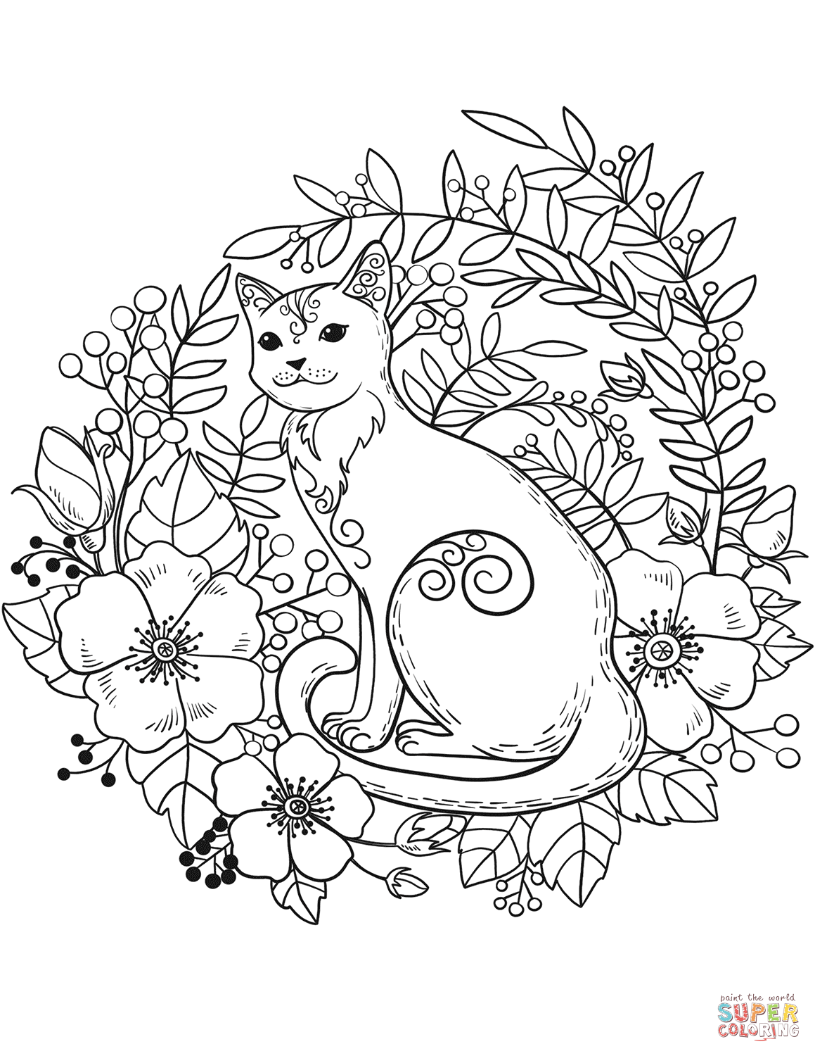 colouring pages cats free coloring pages cats coloring home cats pages colouring