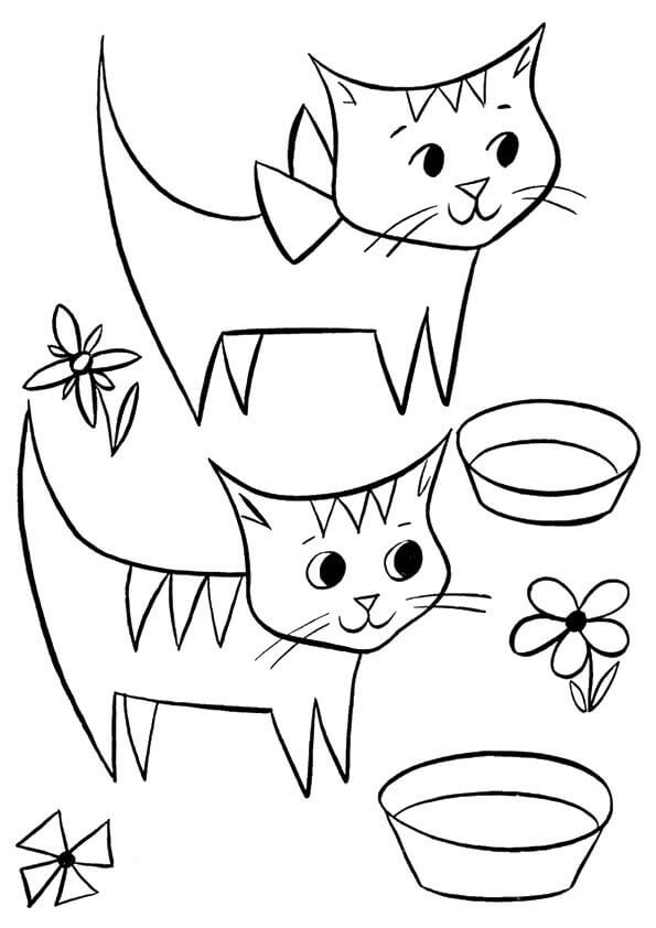 colouring pages cats kitten coloring pages best coloring pages for kids pages cats colouring 1 2