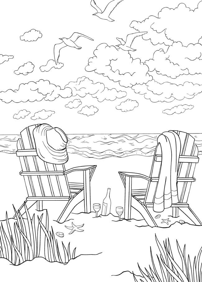 colouring pages of beach scene 25 free printable beach coloring pages scribblefun beach colouring pages scene of