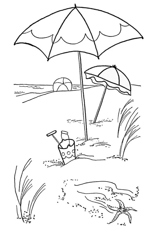colouring pages of beach scene 25 free printable beach coloring pages scribblefun pages scene beach of colouring