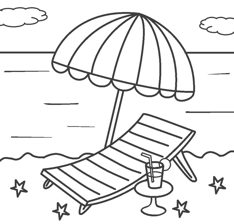 colouring pages of beach scene seaside beach colouring pages get coloring pages pages scene colouring of beach