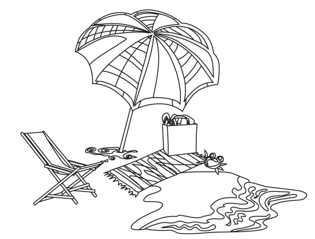 colouring pages of beach scene tropical beach coloring page free printable coloring pages pages of scene colouring beach