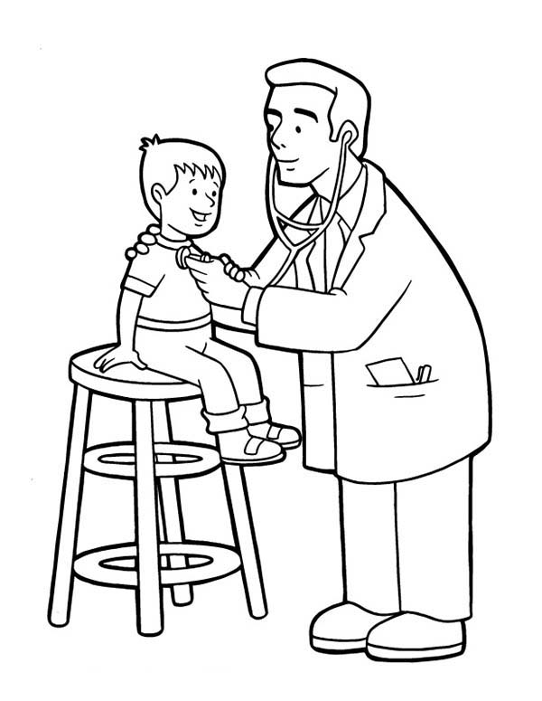 colouring pages of doctor a doctor coloring page coloring home doctor pages of colouring