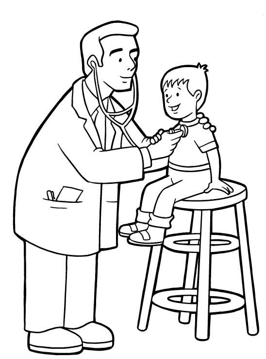 colouring pages of doctor doctor coloring pages for kids coloring home doctor of colouring pages