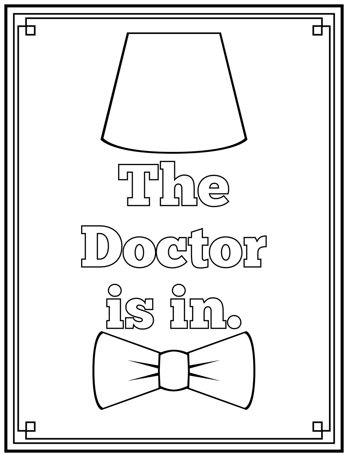 colouring pages of doctor doctor coloring pages to download and print for free colouring doctor pages of
