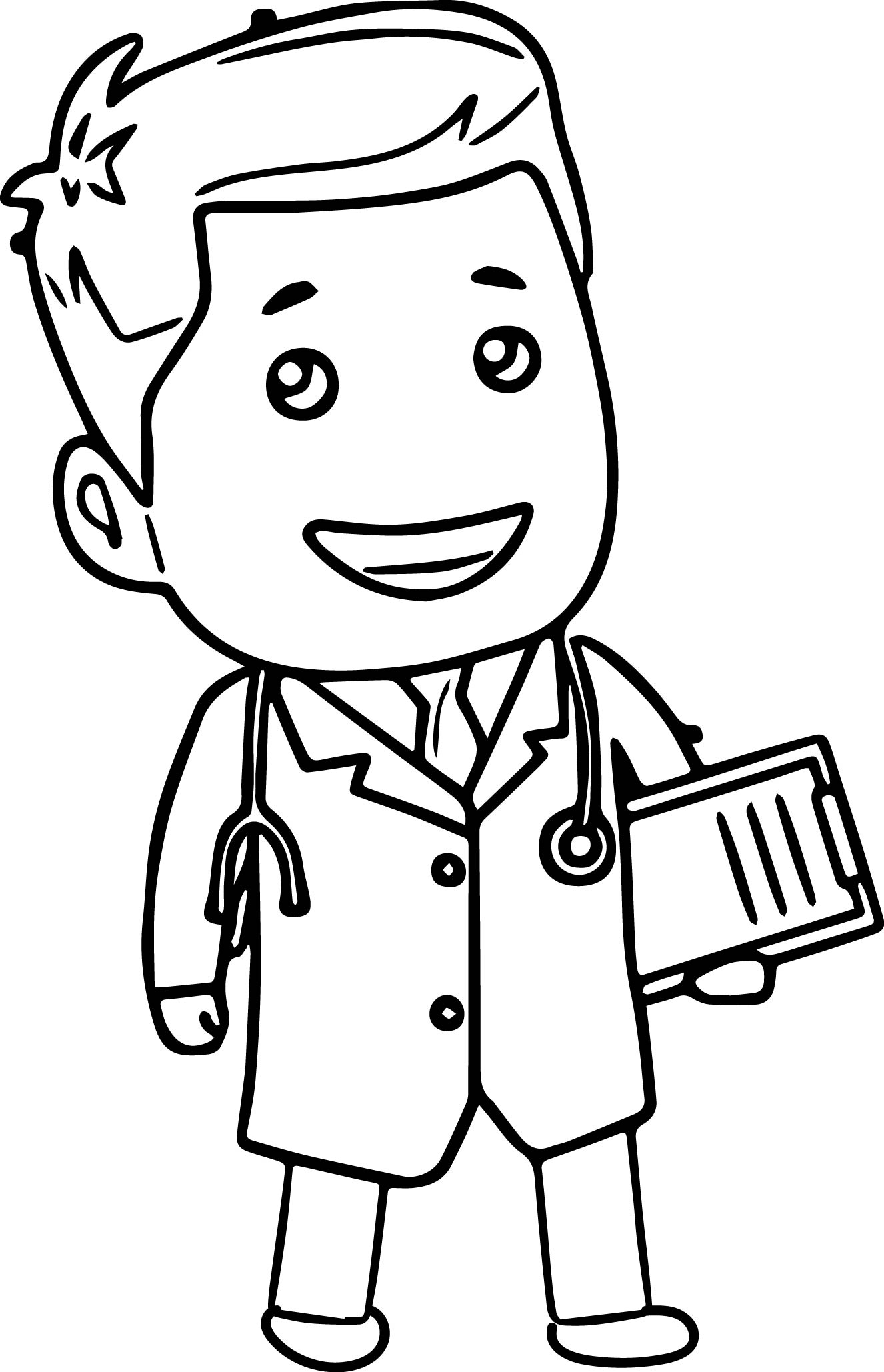 colouring pages of doctor doctor drawing pictures at getdrawings free download colouring of doctor pages