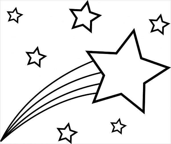 colouring pages of stars christmas star coloring pages getcoloringpagescom pages stars colouring of