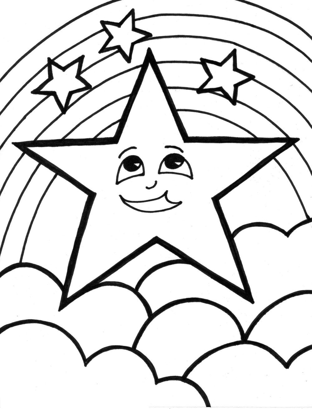 colouring pages of stars free printable star coloring pages for kids pages stars of colouring 1 1
