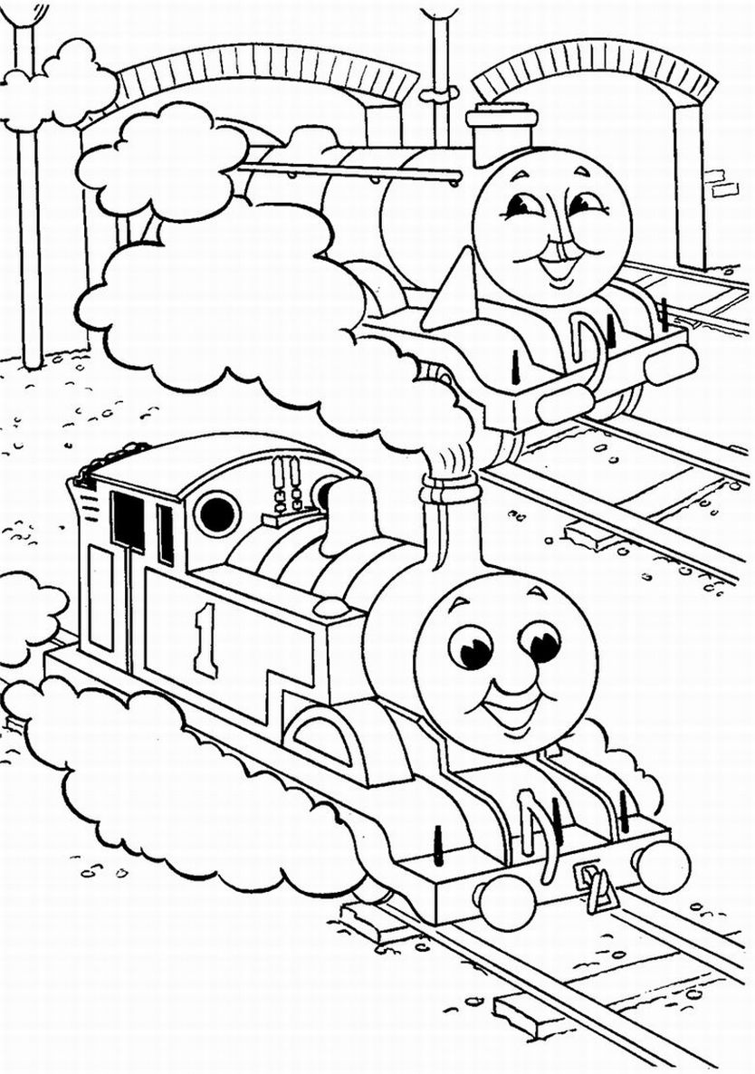colouring pages thomas the tank engine thomas the tank engine train coloring page tsgoscom colouring tank engine the thomas pages
