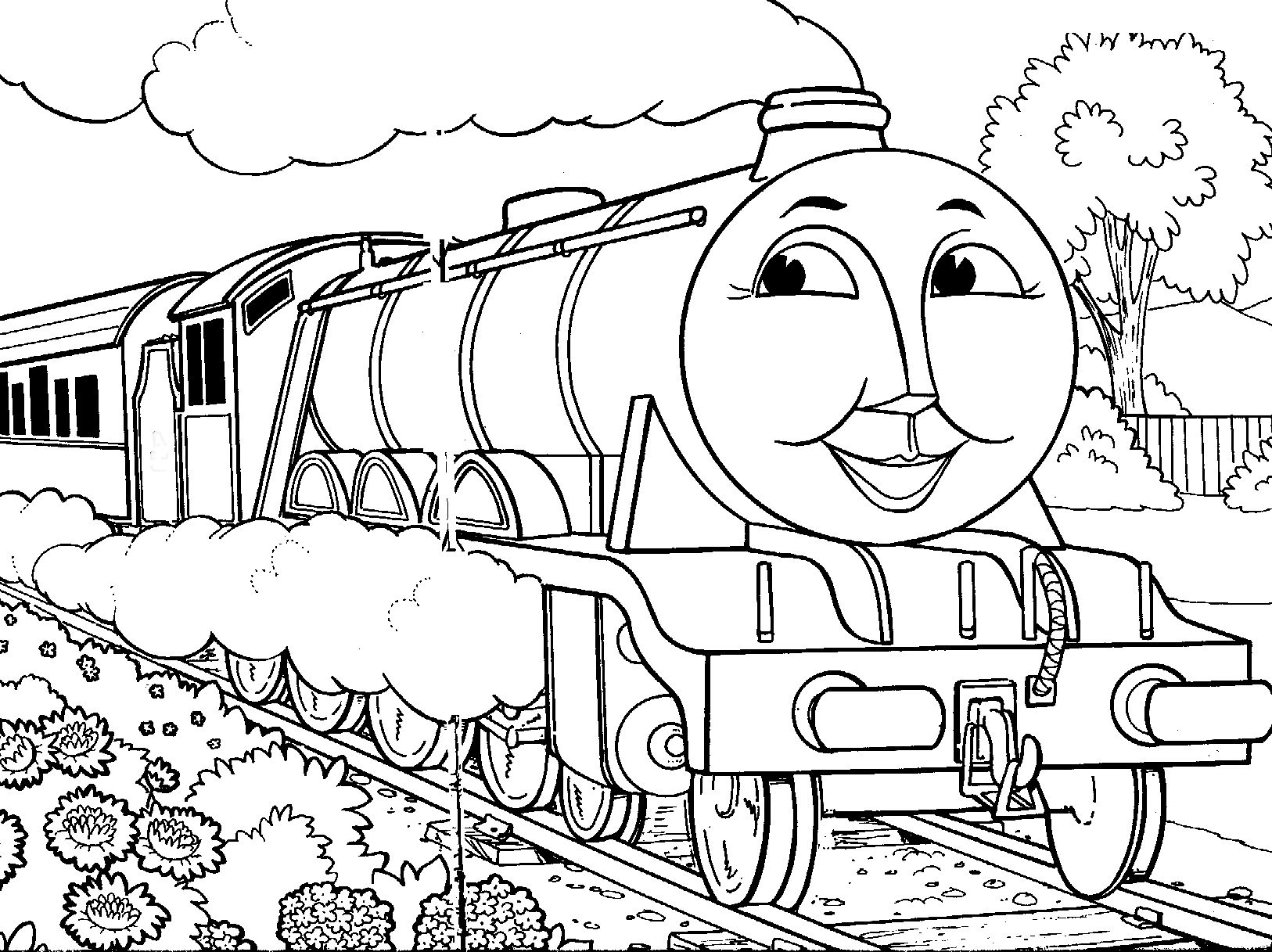 colouring pages thomas the tank engine thomas train drawing at getdrawings free download pages engine tank thomas colouring the