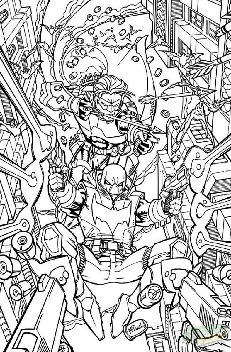 comic coloring 25 dc comics coloring book variant covers revealed ign comic coloring