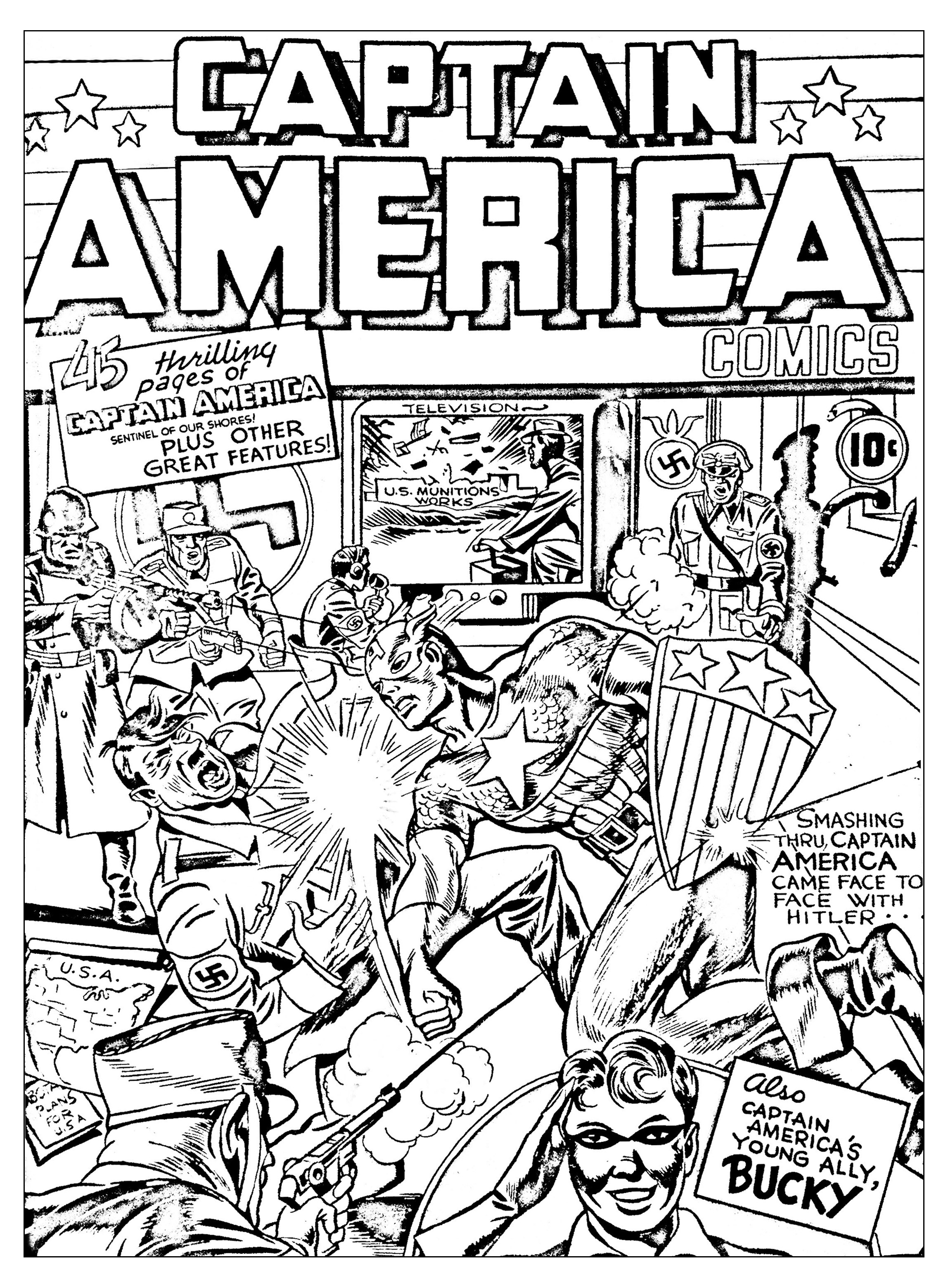 comic coloring avengers coloring pages to download and print for free coloring comic