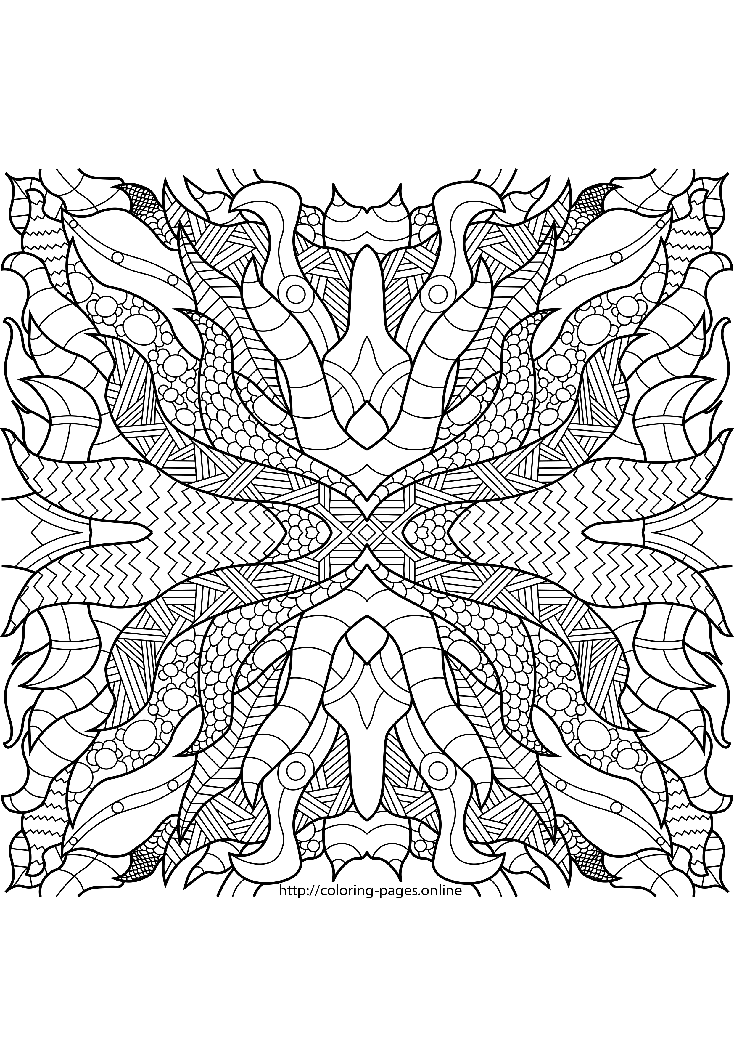 complex coloring sheets hard complex pattern coloring page printable coloring complex coloring sheets