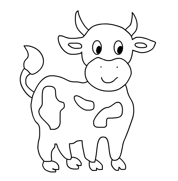 cow pictures to color cows coloring pages to download and print for free color pictures cow to