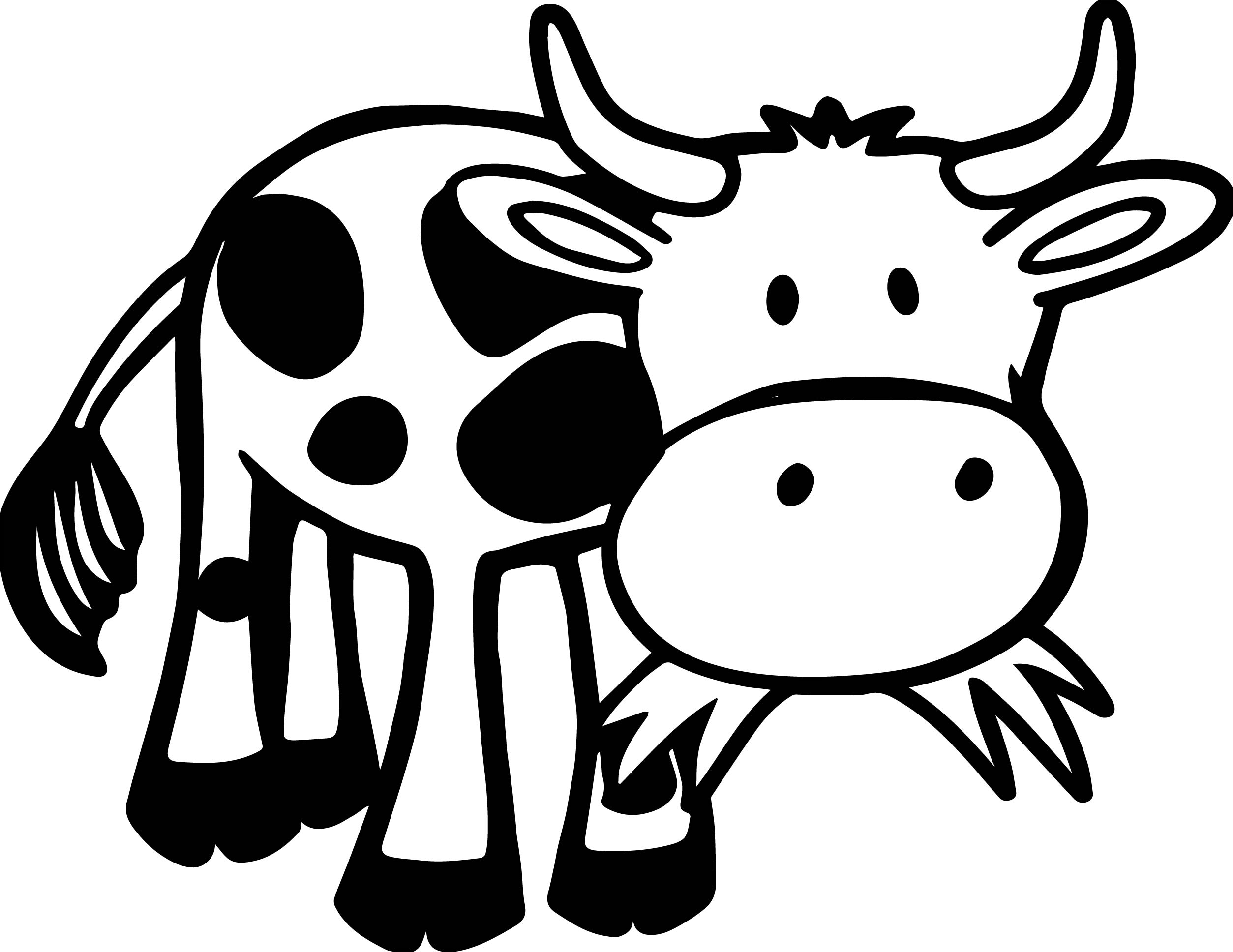 cow pictures to color simple printable cow coloring pages kids coloring pages cow pictures color to