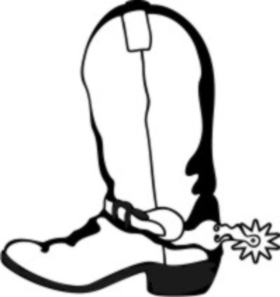 cowboy boots coloring pages 143 best coloring pages images on pinterest western boot cowboy coloring boots pages