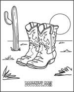 cowboy boots coloring pages armadillo coloring page coloring boots cowboy pages
