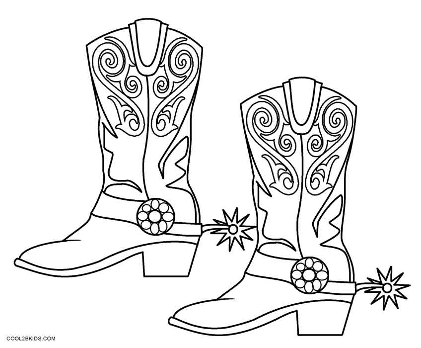 cowboy boots coloring pages cowboy boot adult coloring page favecraftscom cowboy pages coloring boots