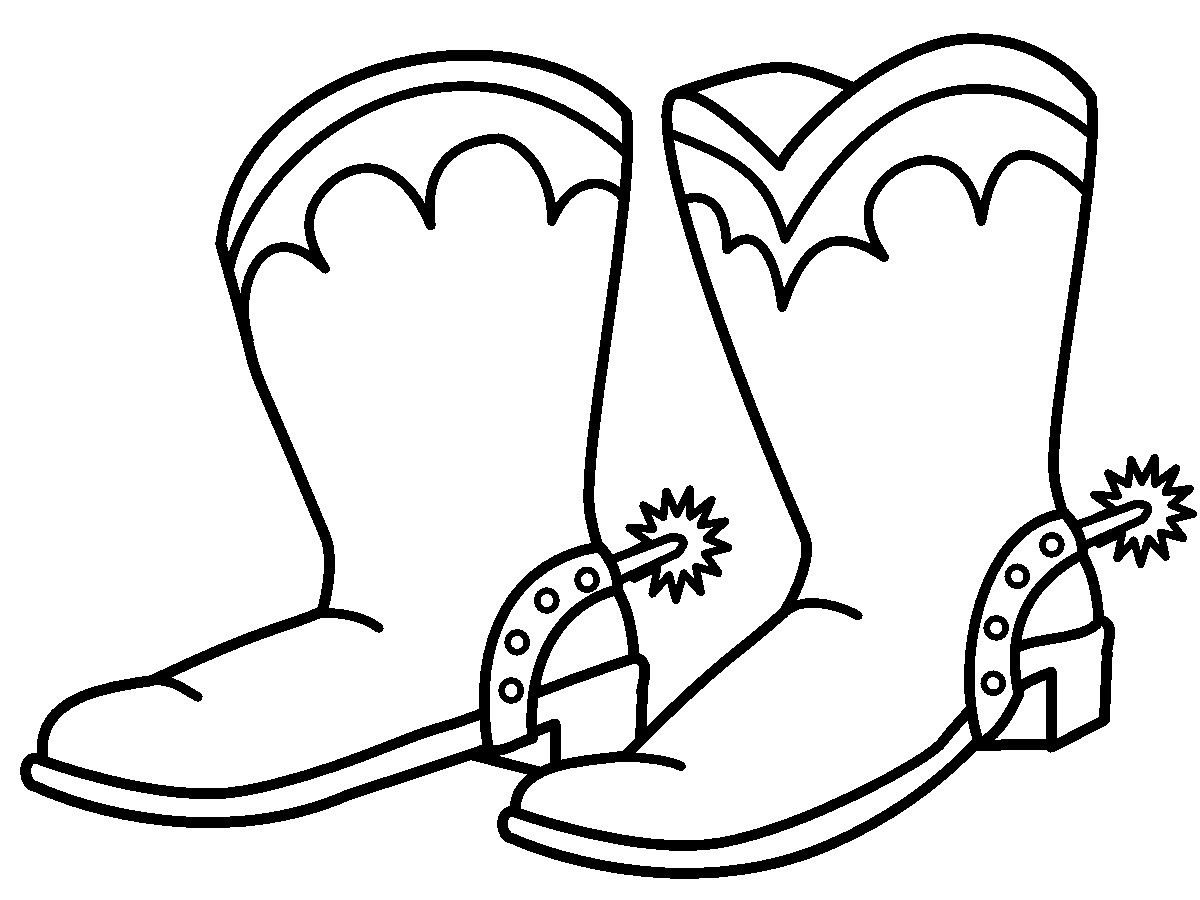 cowboy boots coloring pages cowboy boot coloring page free printable coloring pages cowboy boots pages coloring
