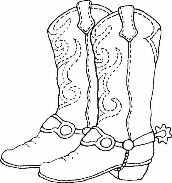 cowboy boots coloring pages cowboy boot outline coloring page cowboy boots coloring boots cowboy coloring pages