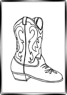cowboy boots coloring pages cowgirl boots coloring pages cowboy boots coloring page in pages coloring boots cowboy