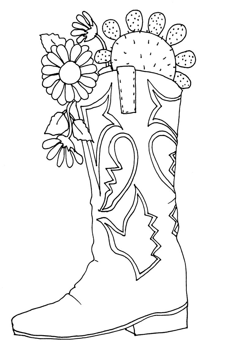 cowboy boots coloring pages new coloring pages free coloring pages printable for cowboy coloring boots pages