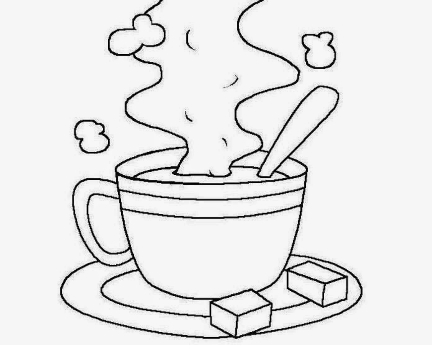 cup colouring pages coloring page cup pages colouring cup