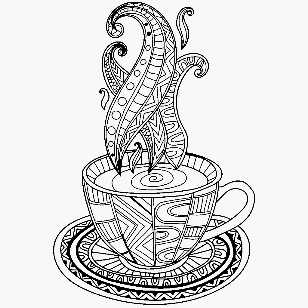 cup colouring pages drinks coloring pages crafts and worksheets for colouring pages cup