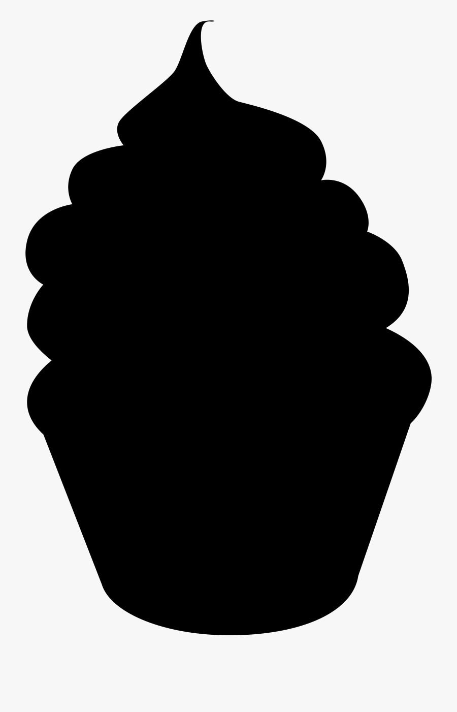 cupcake silhouette cupcake silhouette clipart free download on clipartmag silhouette cupcake