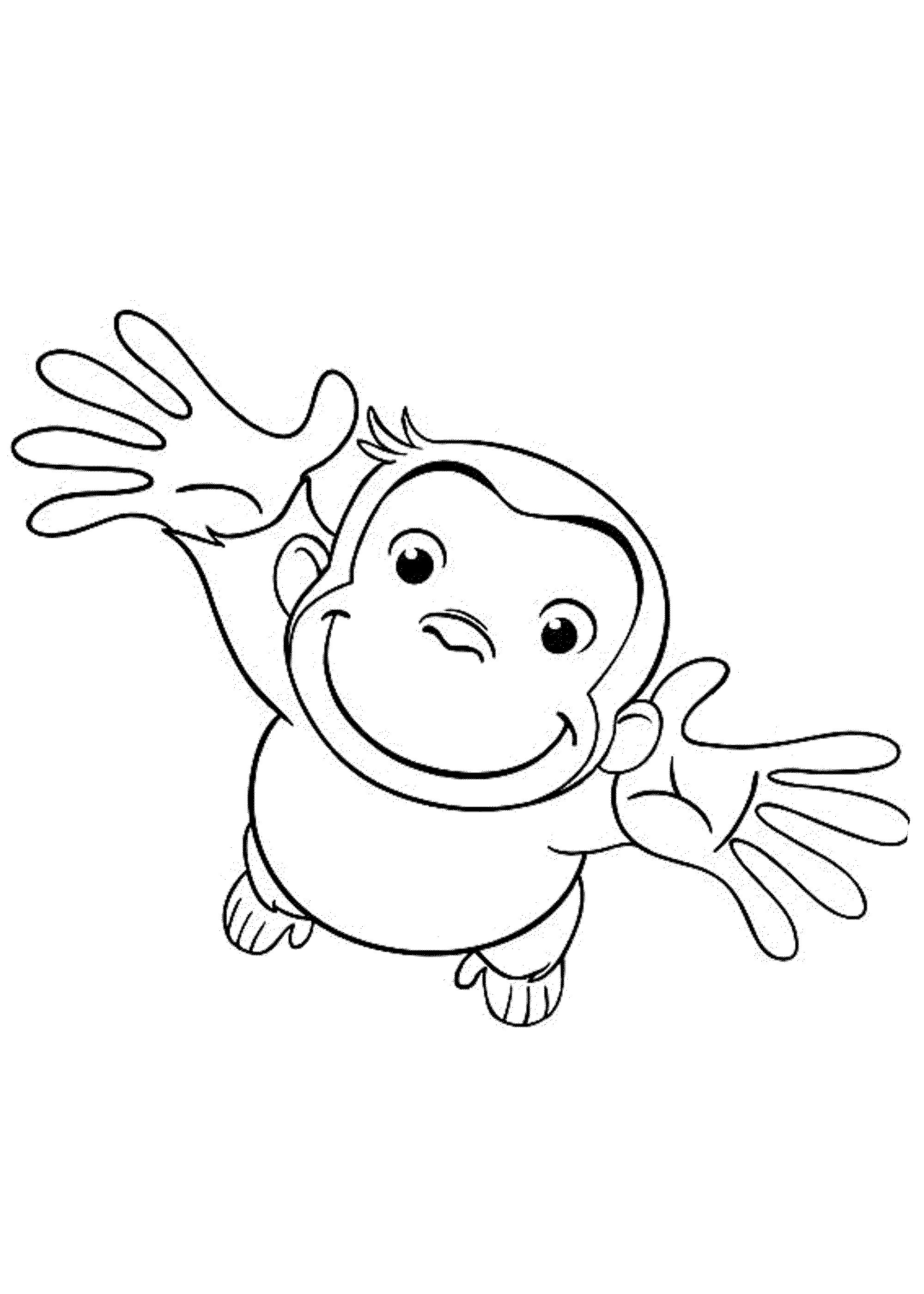 curious george coloring pages curious george coloring pages george curious pages coloring