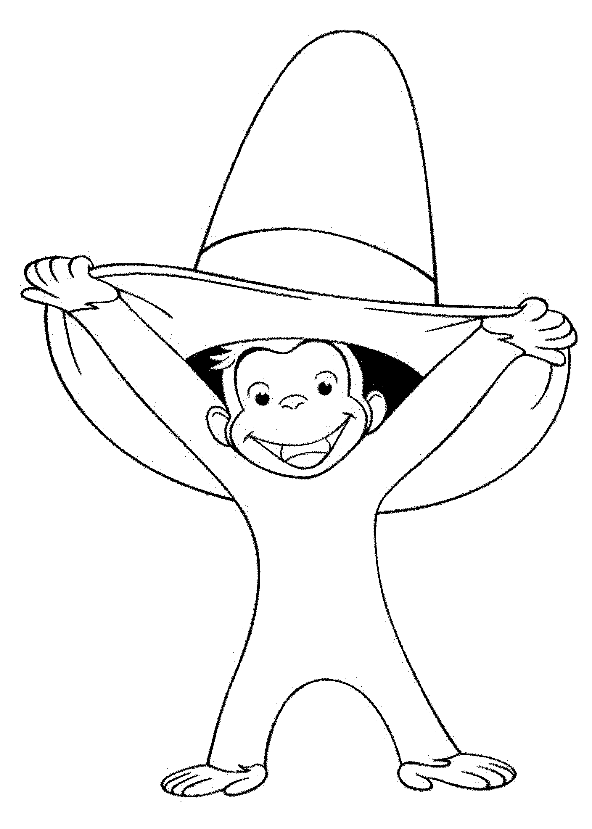 curious george coloring pages print download curious george coloring pages to coloring curious pages george 1 1
